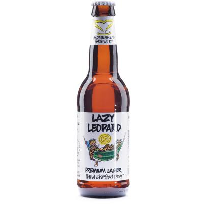 Birkenhead Brewery Lazy Leopard Premium Lager